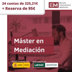 EIM - Máster- 25 Cuotas x 225,21€